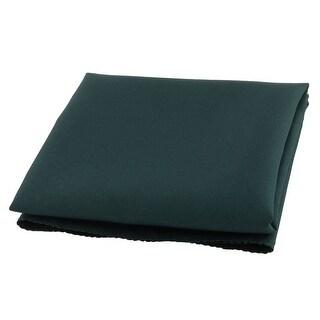 Tableware Fabric Square Dinner Mat Placemat Cloth Napkin Dark Green 48cm x 48cm