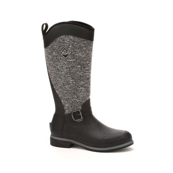 Muck Boot Women's Reign Supreme Tall Black Grey Size 5 Equestrian Boot