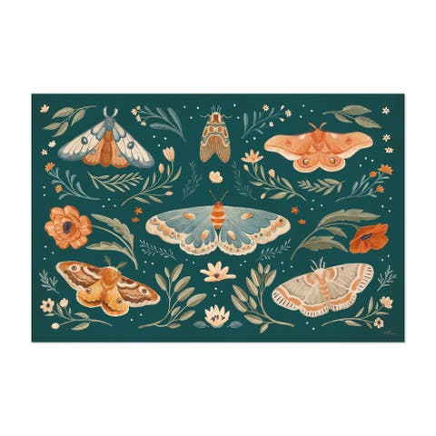 Animals Botanical Butterflies Butterfly Unframed Wall Art Print/Poster