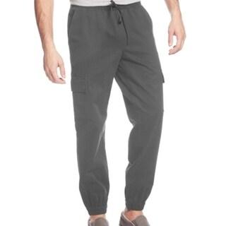 American Rag NEW Onyx Gray Mens Size Medium M Cargo Jogger Pants