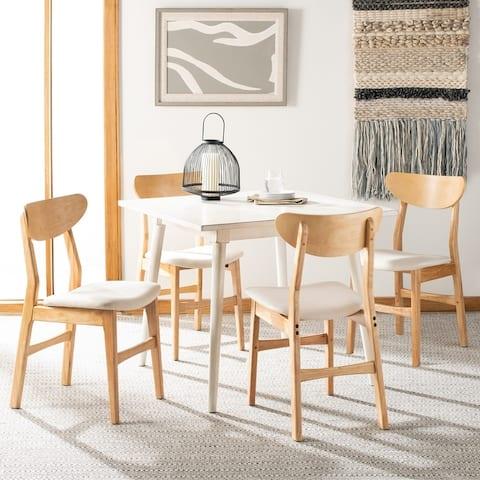"Safavieh Lucca Retro Dining Chair (Set of 2) - 17.3"" x 20.8"" x 33.1"" - 17.3"" x 20.8"" x 33.1"""