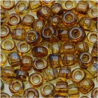 Toho Round Seed Beads 6/0 Y301 - Hybrid Natural Picasso (8 Grams)