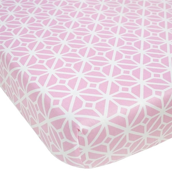 The Cocalo Collection Lattice Fitted Sheet