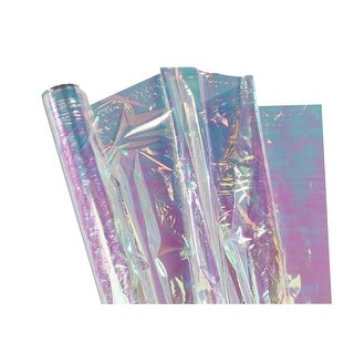Pacon Cellophane Roll, 36 Inches x 12-1/2 Feet, Iridescent