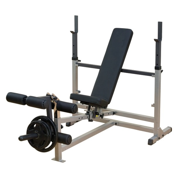 Body-Solid Power Center Combo Bench - Black