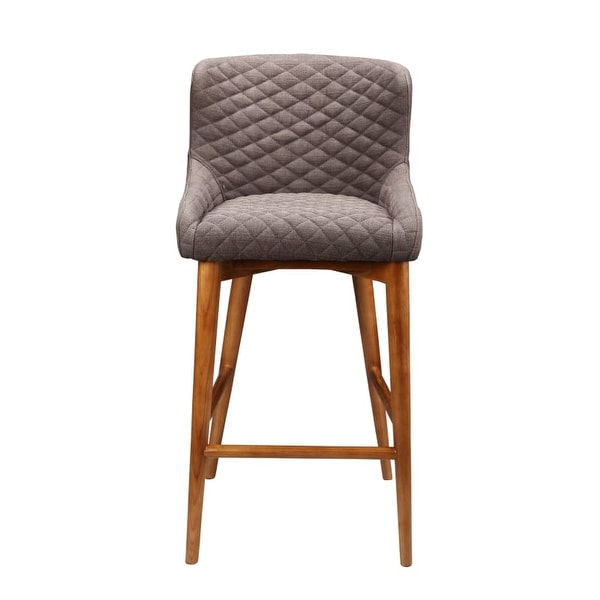 Moes Home Collection EH 1101 Doyle 37 Inch Tall Wood Kitchen Stool   Brown