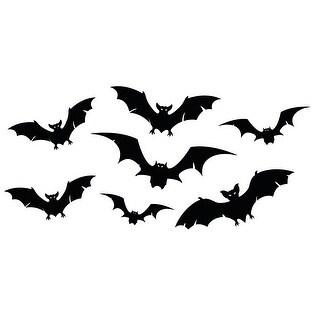 Bats - Halloween Vinyl Decals - 48x24 Peel'N'Stick Wall Art