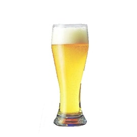 Palais Clear Luxurious Pilsner Glass, Set of Four (19 Oz)