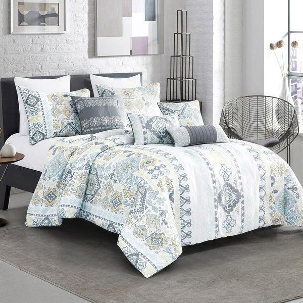 KAJAL Luxury 7 Piece Comforter. Opens flyout.