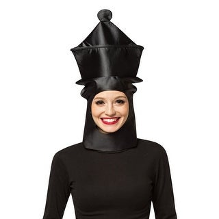 Rasta Imposta Queen Chess Piece Mask - Black