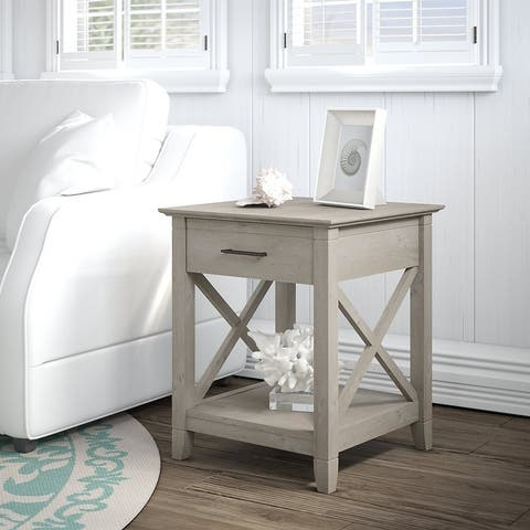 The Gray Barn End Table with Storage