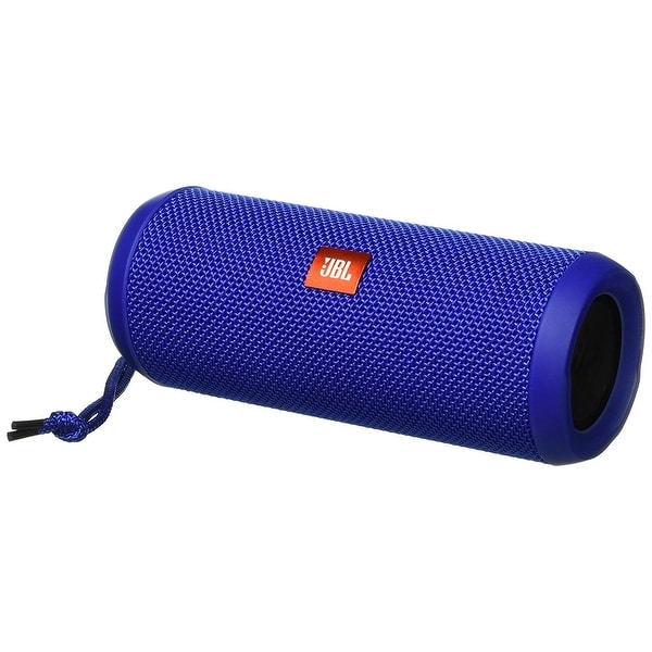 Shop JBL Flip 3 Splashproof Portable Bluetooth Speaker (Blue) - Free Shipping Today - Overstock - 22611993