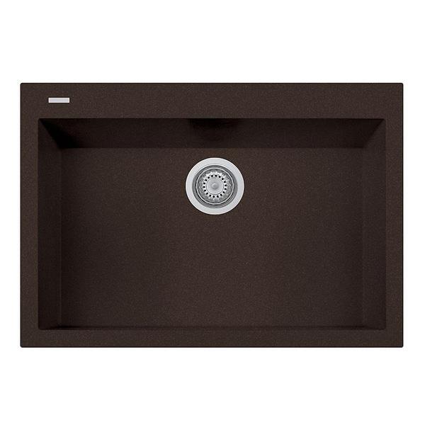 """Handmade Single Basin Granite Drop-In Sink - 30"""" x 20"""". Opens flyout."""
