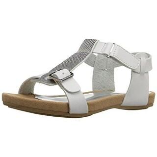 Nine West Taryn Faux Leather Toddler Sandals - 10 medium (b,m)