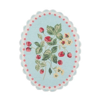 Link to Madcap Cottage by Momeni Get Smart Cherie Berry Area Rug - 3' X 4' Similar Items in Rugs