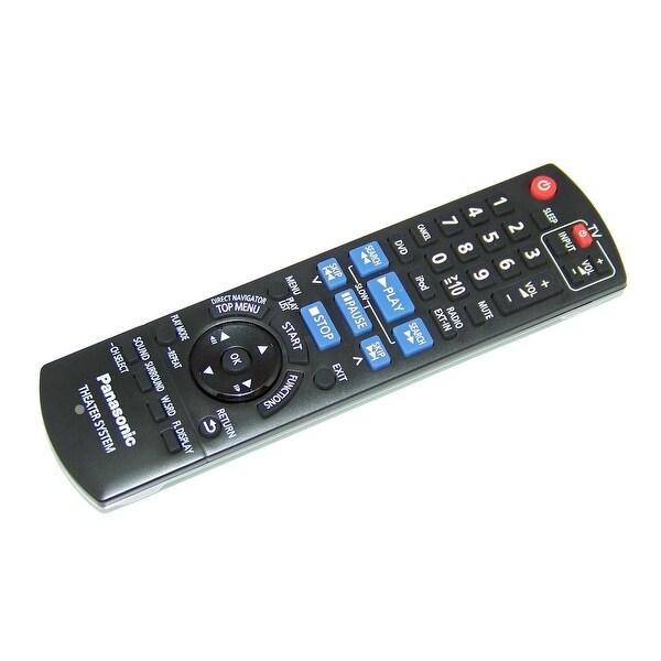 OEM Panasonic Remote Control Originally Shipped With: SAPT480, SA-PT480, SCPT480, SC-PT480, SCPT480P-K, SC-PT480P-K