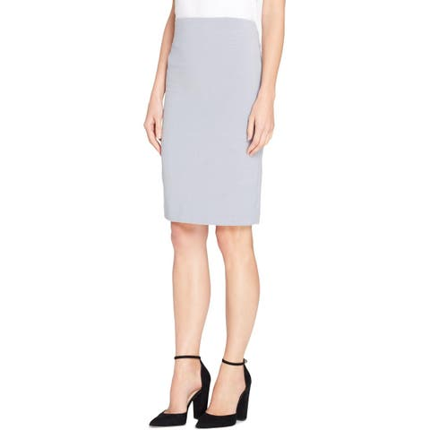 Tahari ASL Womens Pencil Skirt High-Waist Knee-Length