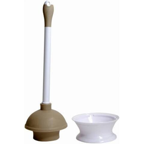 Quickie 360MB Plunger & Caddy with Microban Protection