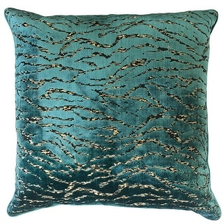 Link to Rodeo Home Empress Luxury Cut Velvet Throw Pillow Similar Items in Decorative Accessories