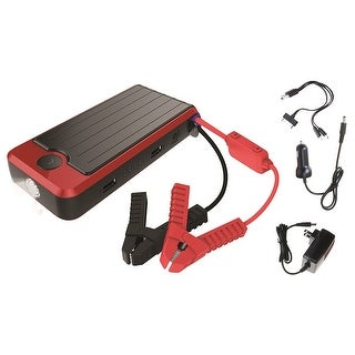 PowerAll PBJS16000R Rosso Red/Black Portable Power Bank and Lithium Jump Starter - Black