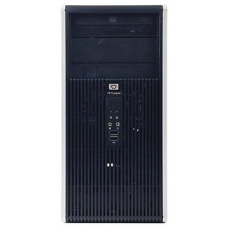HP DC5800 Computer Tower Intel Pentium E2200 2.2G 4GB DDR2 1TB Windows 7 Pro 1 Year Warranty (Refurbished) - Silver