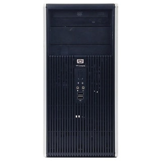 HP DC5800 Computer Tower Intel Pentium E2200 2.2G 4GB DDR2 320G Windows 7 Pro 1 Year Warranty (Refurbished) - Silver