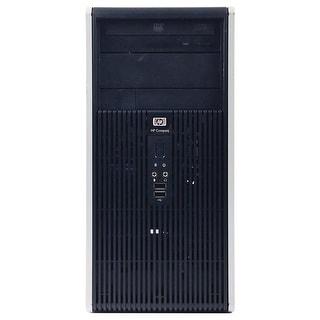 HP DC5850 Computer Tower AMD Athlon 64 x2 5000B 2.6G 2GB DDR2 80G Windows 7 Pro 1 Year Warranty (Refurbished) - Silver