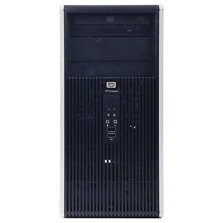 HP DC5850 Computer Tower AMD Athlon 64 x2 5000B 2.6G 4GB DDR2 160G Windows 7 Pro 1 Year Warranty (Refurbished) - Silver