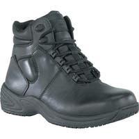 Grabbers Men's Fastener Black Leather