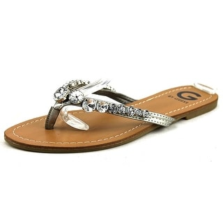 G By Guess Lalaa Open Toe Synthetic Flip Flop Sandal