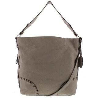 Jessica Simpson Womens Lani Hobo Handbag Faux Leather Convertible - LARGE