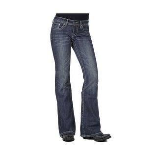 Stetson Western Denim Jeans Womens 816 Fit
