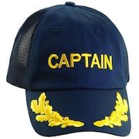 Dorfman Pacific Twill Captain Sailing and Nautical Baseball Cap