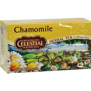 Celestial Seasonings - Chamomile Caffeine Free Herbal Tea ( 6 - 20 BAG)