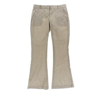 Theory Womens Jeldra Heathered Flat Front Dress Pants - 00