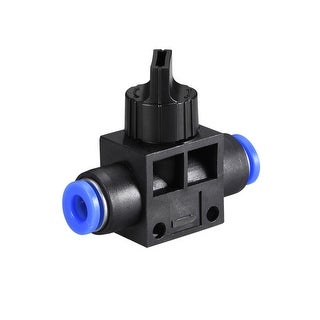 """Air Flow Control Valve Connect Fitting, 15/64"""" OD  Speed Controller 5pcs - 5pcs 15/64"""""""