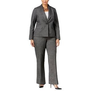 Le Suit Womens Plus Pant Suit 2PCS One-Button Front https://ak1.ostkcdn.com/images/products/is/images/direct/1042343571edbbf2bab50475b58b53776764c255/Le-Suit-Womens-Plus-Pant-Suit-2PCS-One-Button-Front.jpg?impolicy=medium