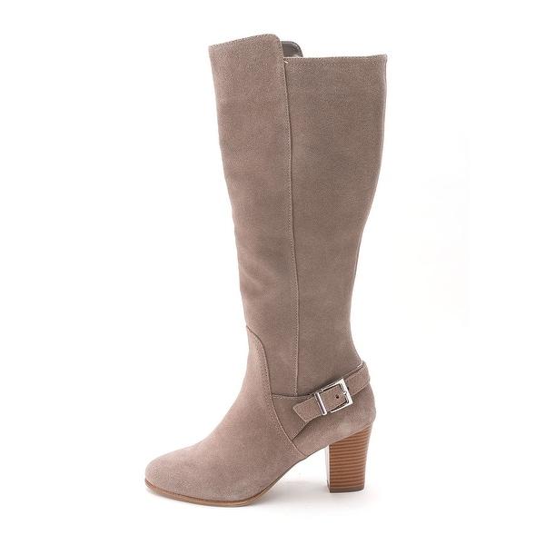 Alfani Womens Careeni Suede Closed Toe Fashion Boots