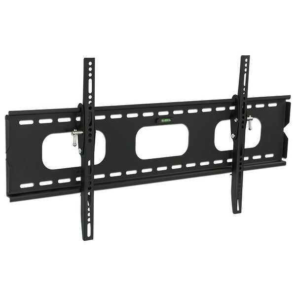 Mount-It! Low-Profile Tilting TV Wall Mount Bracket for 42 - 70 inch LCD, LED, OLED, 4K or Plasma Flat Screen TVs