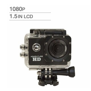 Cobra 5200 Adventure HD 1.3MP Sports Action Camera, 1920 x 1080p/30 fps