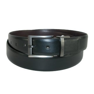 Kenneth Cole Reaction Men's Big & Tall Feather Edge Reversible Belt Buckle (More options available)