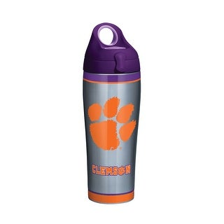 NCAA Clemson Tigers Stainless Steel Water Bottle