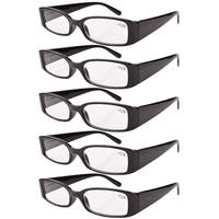 Eyekepper Spring Hinge Reading Glasses Readers Women Black +2.0