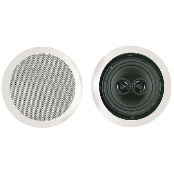 "Bic America Msr6D 6.5"" Muro Dual Voice-Coil Stereo Ceiling Speaker"