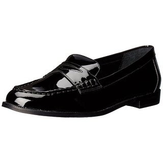 LAUREN by Ralph Lauren Womens Barrett Leather Closed Toe Loafers