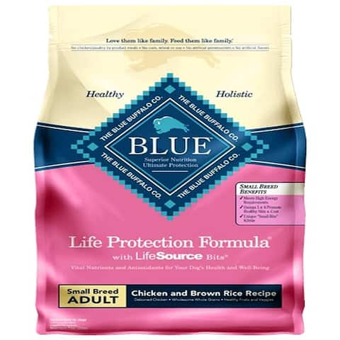 Blue Buffalo Dog Small all Breed Chicken Brown Rice 15 Lbs. - 15 lbs