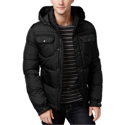 Levi's Mens Puffy Quilted Jacket