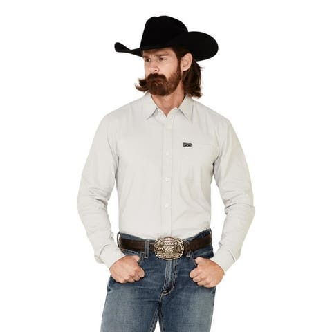 Kimes Ranch Western Shirt Men Long Sleeve Pockets Button