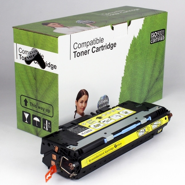 Value Brand replacement for HP 311A Yellow Toner Q2682A (6,000 Yield)