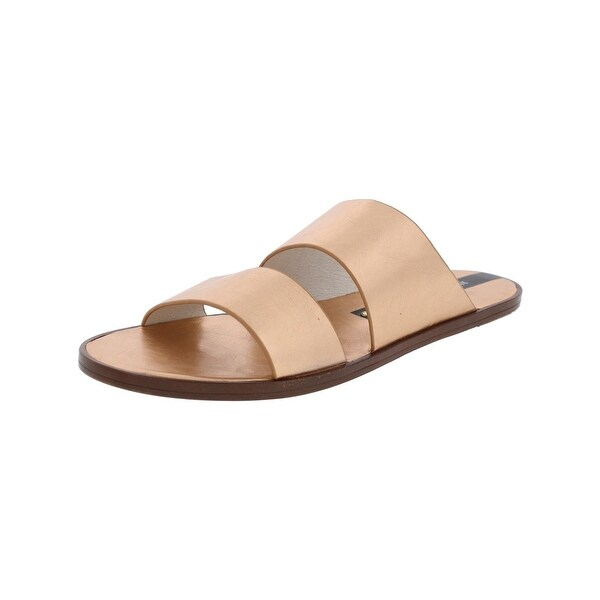 Matt Bernson Womens Havana Slide Sandals Open Toe Strappy